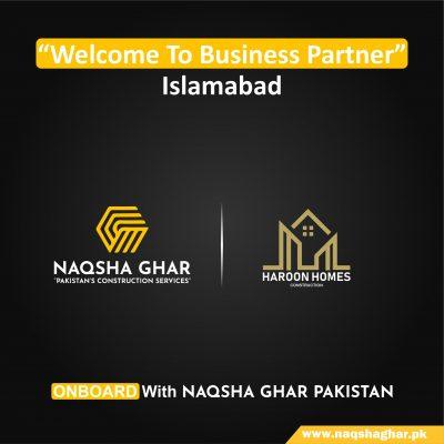 Construction company in Islamabad- naqsha ghar pakistan - haroon homes