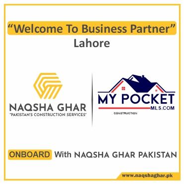Construction Company in Lahore - MY POCKET - Naqsha Ghar Pakistan